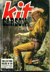 Kit Carson -Rec69- Collection reliée N°69 (du n°463 au n°466)
