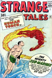 Strange Tales (1951) -107- The Human Torch Vs. The Mighty Submariner