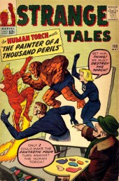 Strange Tales (Marvel - 1951) -108- The Painter of a Thousand Perils!
