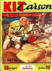 Kit Carson -82- Le cheval endiablé