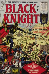 Black Knight (Atlas - 1955) -2- The Siege of Camelot!