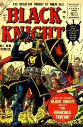 Black Knight (Atlas - 1955) -5- The Invincible Tartar!