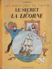 Tintin (Historique) -11A23- Le secret de la Licorne