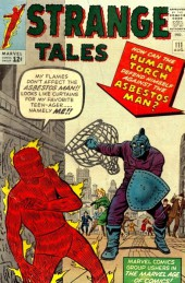 Strange Tales (Marvel - 1951) -111- Fighting to the Death with the Asbestos Man!