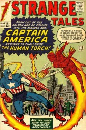 Strange Tales (Marvel - 1951) -114- The Human Torch Meets... Captain America