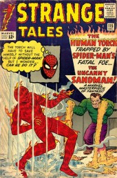 Strange Tales (Marvel - 1951) -115- The Sandman Strikes!