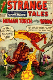 Strange Tales (Marvel - 1951) -116- In the Clutches of the dreaded Puppet Master!