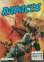 Rapaces (Impéria) -Rec69- Collection reliée N°69 (du n°400 au n°403)