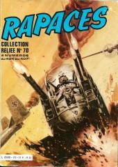 Rapaces (Impéria) -Rec70- Collection reliée N°70 (du n°404 au n°407)