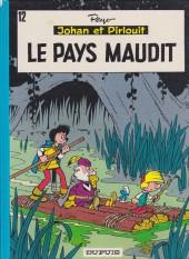 Johan et Pirlouit -12b1991- Le pays maudit