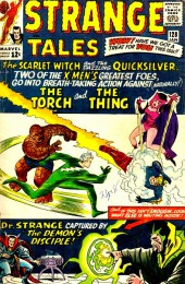 Strange Tales (Marvel - 1951) -128- The Scarlet Witch and the dazzling Quicksilver