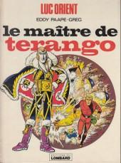 Luc Orient -3b78- Le maître de terango
