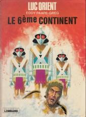 Luc Orient -10b1978'- Le 6ème continent