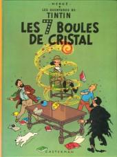 Tintin (Historique) -13C3bis- Les 7 boules de cristal