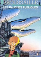 Broussaille -1b01- Les baleines publiques