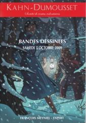 (Catalogues) Ventes aux enchères - Kahn-Dumousset - Kahn-Dumousset - Bandes dessinées - samedi 3 octobre 2009