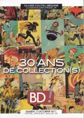 (Catalogues) Ventes aux enchères - Coutau-Bégarie - Coutau-Bégarie - BD ! 14, 30 ans de collection(s) - samedi 1er octobre 2011 - Paris hôtel Drouot