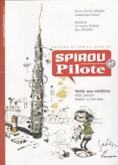 (Catalogues) Ventes aux enchères - Coutau-Bégarie - Coutau-Bégarie - Auteurs et séries issus de Spirou et Pilote - samedi 10 juin 2006 - Paris hôtel Drouot