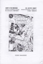 (Catalogues) Ventes aux enchères - Divers - Denesle & Fremaux-Lejeune - Bandes dessinées / Comics US - 22 juin 2007 - Paris salle Rossini