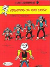 Lucky Luke (en anglais) -7057- Legends of the west