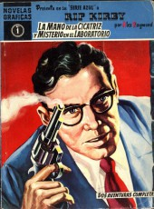 Rip Kirby (en espagnol - serie azul 1959) -1- La mano de la cicatriz y misterio en el laboratorio