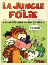 La jungle en folie -1- Les aventures de Joe le tigre