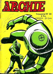 Archie (Jeunesse et Vacances) -23- Le crabe géant
