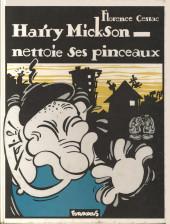 Harry Mickson -3- Harry Mickson nettoie ses pinceaux
