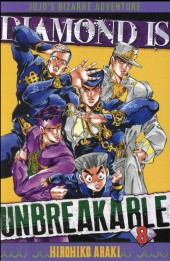 Jojo's Bizarre Adventure - Diamond is unbreakable -8- Tome 8