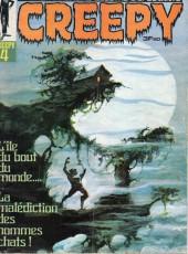 Creepy (Publicness) -4- L'île du bout du monde.... - La malédiction des hommes chats !