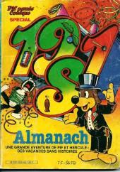 Pif Parade Comique -SP- Almanach 1981