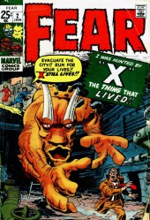 Adventure into Fear (Marvel comics - 1970) -2- I Was hunted by