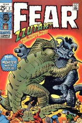 Adventure into Fear (Marvel comics - 1970) -3- Zzutak the Thing That Shouldn't Exist!!