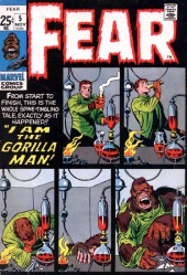 Adventure into Fear (Marvel comics - 1970) -5- I Am the Gorilla- Man!