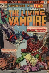 Adventure into Fear (Marvel comics - 1970) -24- Blade, the vampire slayer!