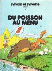 Sylvain et Sylvette -9FL1- du poisson au menu