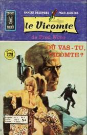 Le vicomte (Comics Pocket) -9- Où vas-tu Vicomte ?