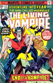 Adventure into Fear (Marvel comics - 1970) -31- End of a Vampire!