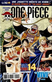 One Piece - La collection (Hachette) -14- The 14th Log