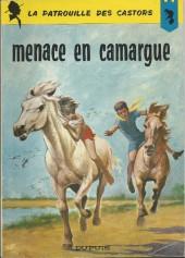 La patrouille des Castors -12a69- Menace en Camargue