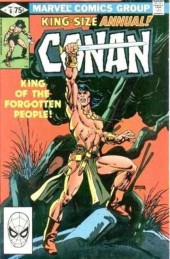 Conan the Barbarian Vol 1 (Marvel - 1970) -AN06- King of the forgotten people