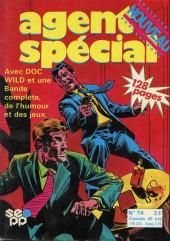 Agent spécial (Edi-Europ) -74- Docteur wild (2) : un cadavre a disparu