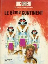 Luc Orient -10b1977- Le 6ème continent