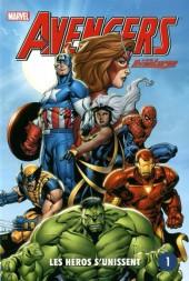 Avengers (Presses aventure) -1- Les Héros S'unissent