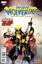 All-New Wolverine (2016) -6- Issue 6