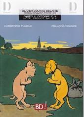 (Catalogues) Ventes aux enchères - Coutau-Bégarie - Coutau-Bégarie - BD ! - samedi 11 octobre 2014 - Paris hôtel Drouot