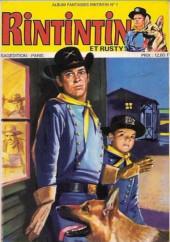 Rin Tin Tin & Rusty (2e série) -Rec76- Album fantaisies Rintintin N°1 (du n°160 au n°162)
