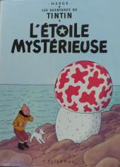 Tintin (Historique) -10C5- L'étoile mystérieuse