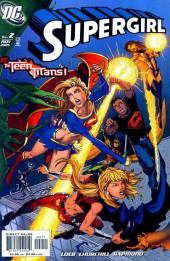 Supergirl (2005) -2A- Power. Chapter Two: The Teen Titans !