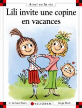 Ainsi va la vie (Bloch) -105- Lili invite une copine en vacances